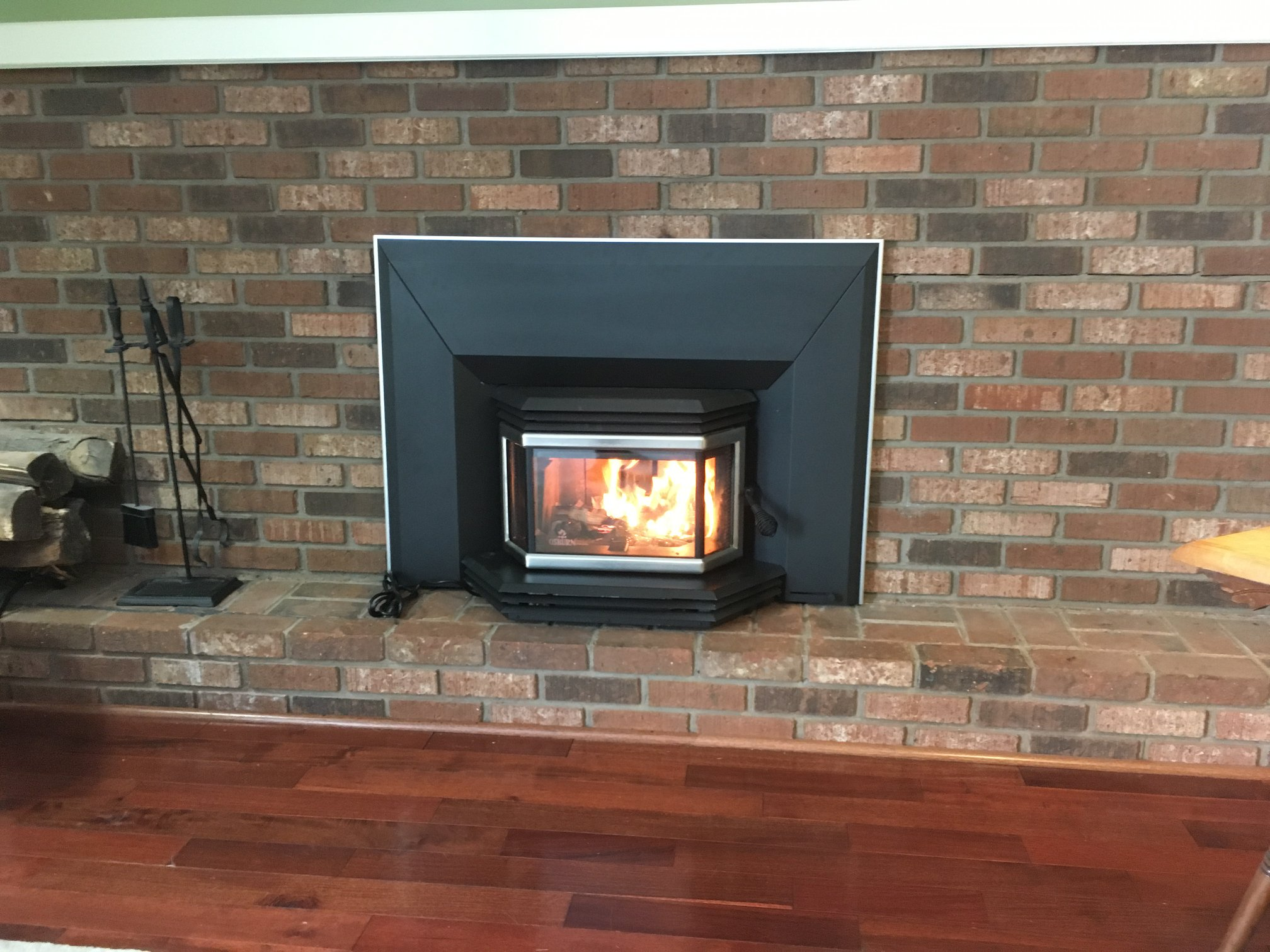 We Install Wood Stove Inserts!