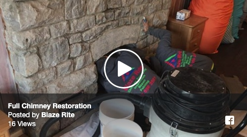 Blaze Rite is starting a full chimney restoration in Jamesville, NY